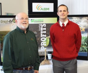 Dan Custis, CEO of Advanced Biological Marketing (ABM); Jordan Miller, Commercial Lender